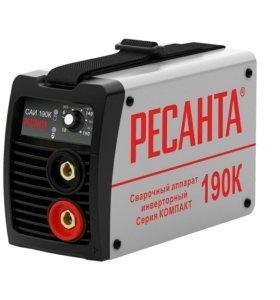 Сварочный инвертор Ресанта саи-190К компакт
