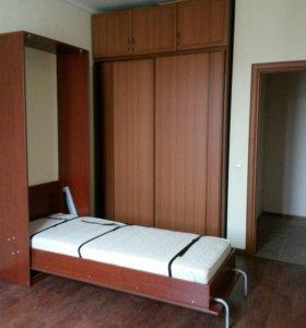 Кровать подъемная с матрасом