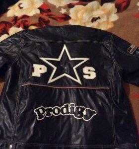 Стильная Куртка Prodigy кожзам