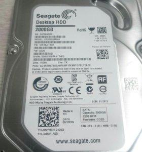 Жёсткий диск hdd 2тб (2tb) seagate