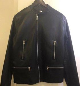 Новая Натуральная Кожаная Куртка