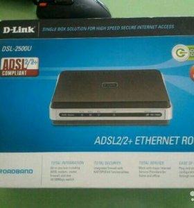 Модем D -Link 2500u