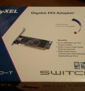 Сетевая карта Zyxel Gigabit PCI