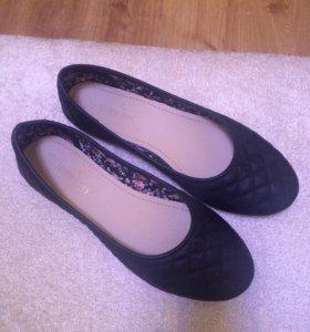 Туфли-балетки размер 38