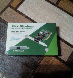Факс-модем AcorpSprinter 56k V92/V44