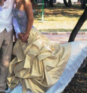 Свадебное платье от Оксаны Мухи.