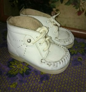 Ботиночки кожа на натуральном меху