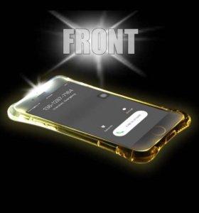 Светящиеся чехол на iPhone 5,5s,se