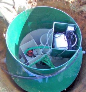 Септики.Установки очистки сточных вод