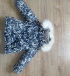 Куртка теплая зима для девочки