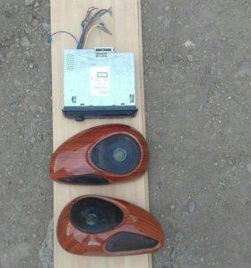 Магнитафон и колонки