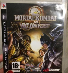 Диск для PS3 Mortal kombat vs DC Universe