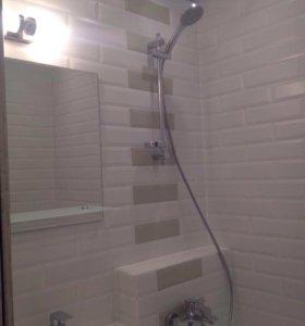 Ремонт ванной и туалете