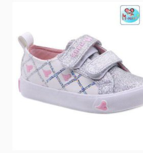 Кеды для девочек: размеры 25-30, цена 790 рублей.