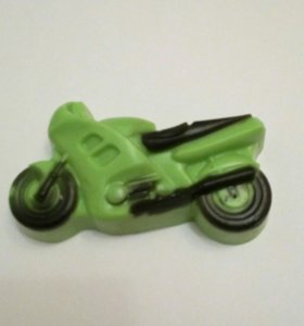 Мыло мотоцикл