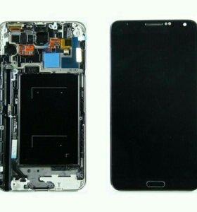 Дисплей Samsung N9005 (Note 3) модуль Черный