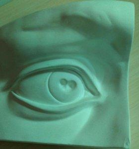 Гипс - Глаз Давида