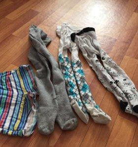 Вещи на 1-2,5 года, футболки, носочки