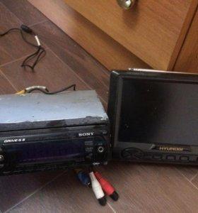 DVD магнитола Soni + TV Hyundai