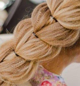 Обучение (11 видов кос)косоплетение,наращивание