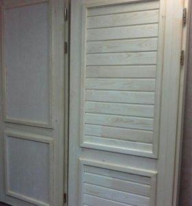 Дверь входная с утеплителем новая