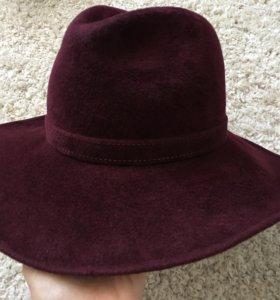 Шляпа плюшевая