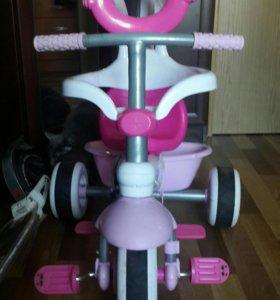 трехколёсный детский велосипед