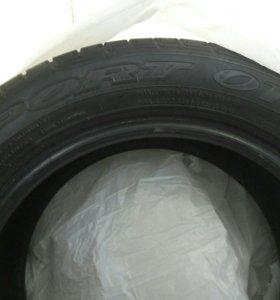 Летняя резина Dunlop sport 01A комплект Б/У