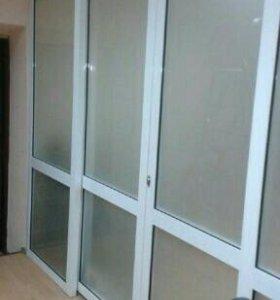 Окна, лоджии, витражи и балконы