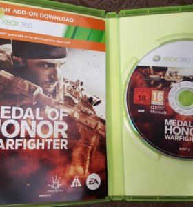 Xbox 360. medal of honor warfighter.Лиценз