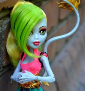 Кукла monster high Лагунафер