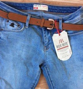 Новые джинсы размер 27-28