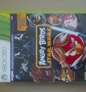 Диск на XBOX 360 Angry Birds KINEСT.