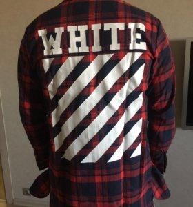 Рубашка off white