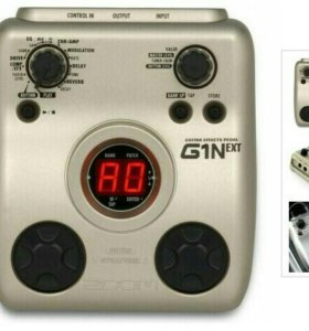 Процессор для электрогитары-Zoom G1Next, новый.