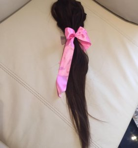 Натуральные волосы на заколках (новые)