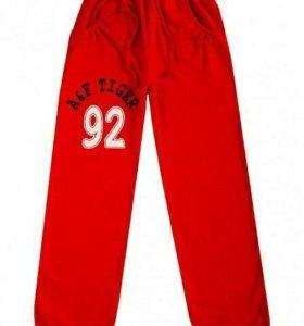 Спортивные брюки новые р.140-146