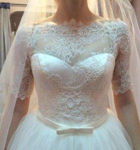 Свадебное платье( Айвори) коллекция 2017
