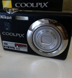 Фотоаппарат Nikon Coolpix S220