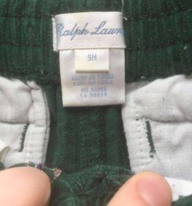Ralph Lauren вельветовые штаны