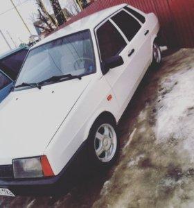 Ваз 21099, 1995 года, цвет белый
