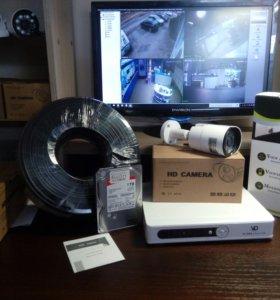 Комплект видеонаблюдения 1 камера