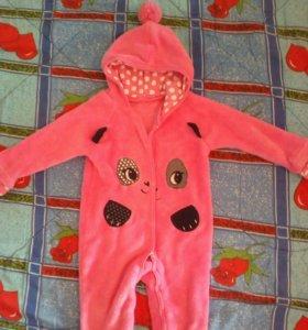 Комбинезон для малышки 6-9 месяцев