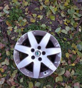 Литые диски, Skoda Superb 1, VW Passat