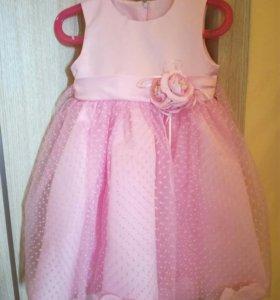 Нарядное платье размер 92—98
