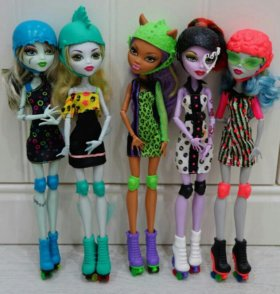Куклы Монстер Хай monster high Mattel Ролики Спорт