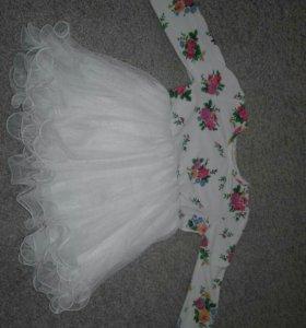 Пышное платье и туфельки