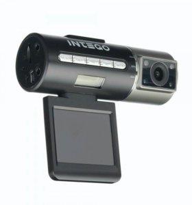 Видеорегистратор+выносная камера Intego vx306 dual
