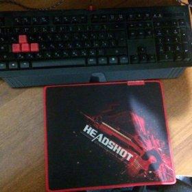 Клавиатура Bloody B120 Black USB