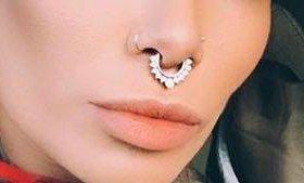Серьга (пирсинг) в нос